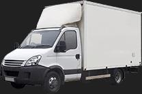 Camion avec hayon
